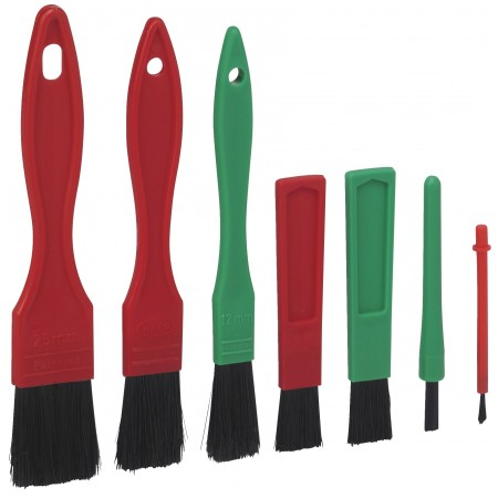 Vikan Set of Soft Detail Brushes 7 pcs 556052, Remove dust particles with this versatile set of Detail Brushes.