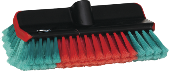 Vikan280mm Waterfed Washing Brush High/Low 524752, Can also be used with any handle within the Vikan Transport System.