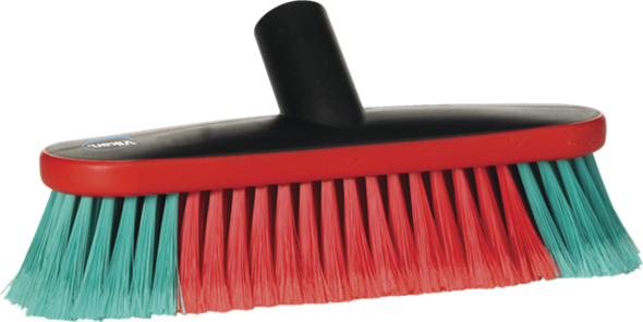 Vikan Vehicle Soft Brush Waterfed 270mm 475552, This small, highly effective Vehicle Brush can be waterfed or used as a dip brush.