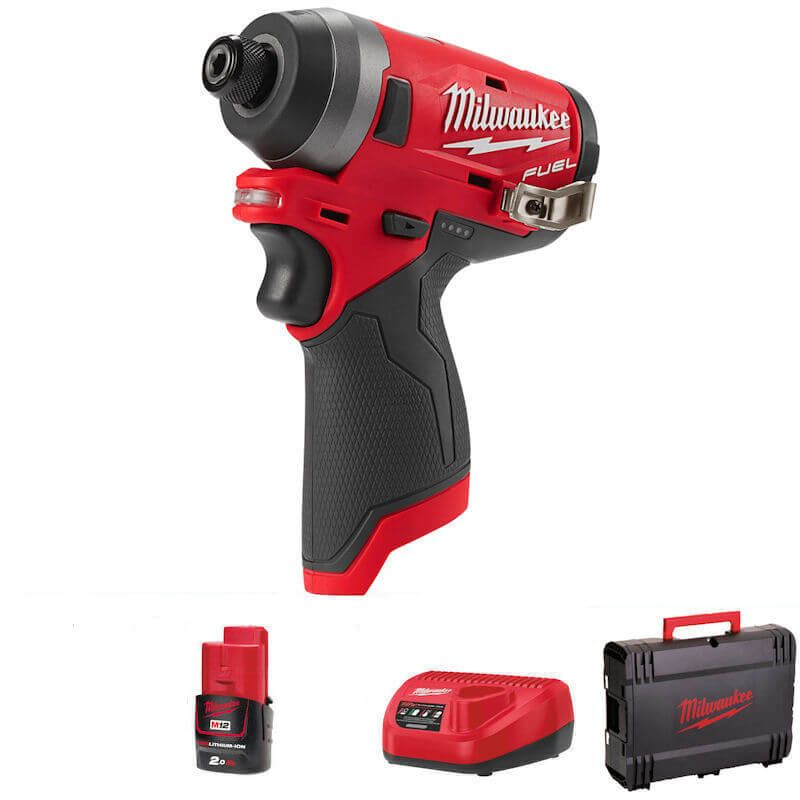 Milwaukee M12 Fuel Impact Driver Body Only M12FID-201B