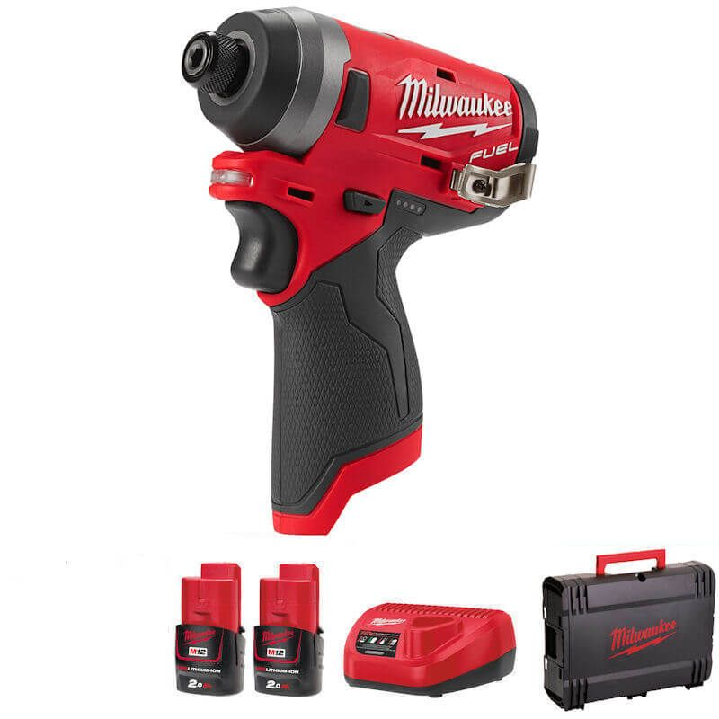 Milwaukee M12 Fuel Impact Driver Body Only M12FID-202B