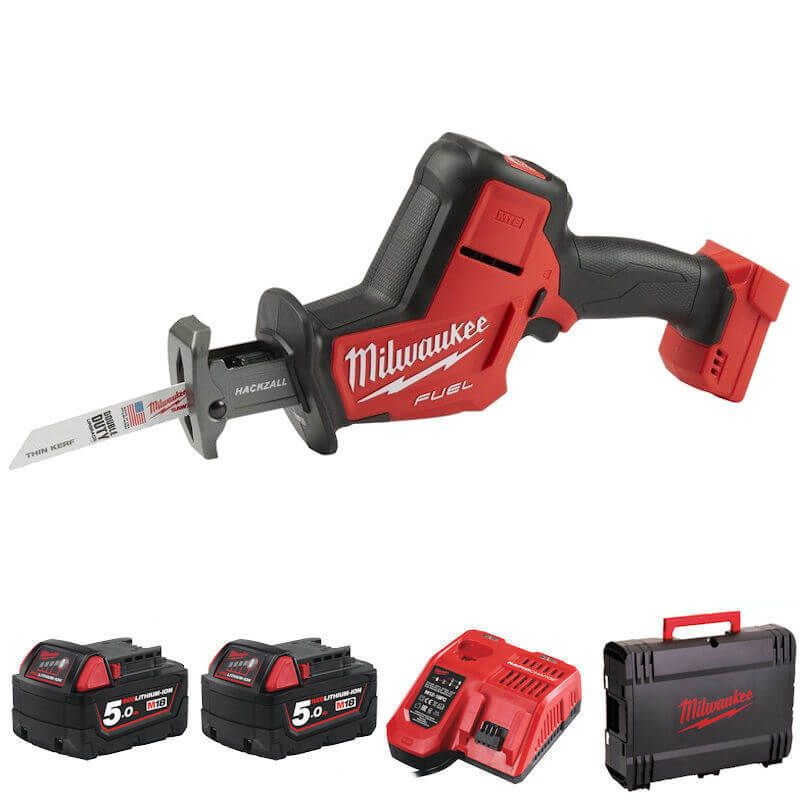 Milwaukee M18 Fuel Hackzall Kit M18FHZ-502X cordless hacksaw