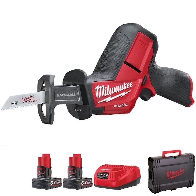 Milwaukee M12 Fuel Hackzall  Kit M12CHZ-602C cordless power saw