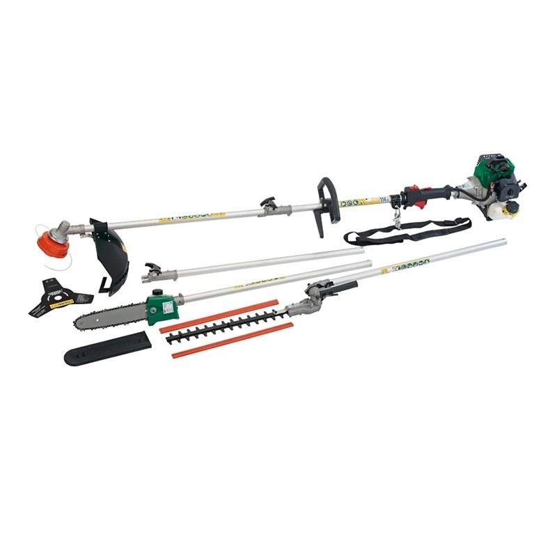 Draper Expert 32.5cc Petrol Garden (4in1 Multi Tool) 84706 | Four attachments for different tasks around the garden.