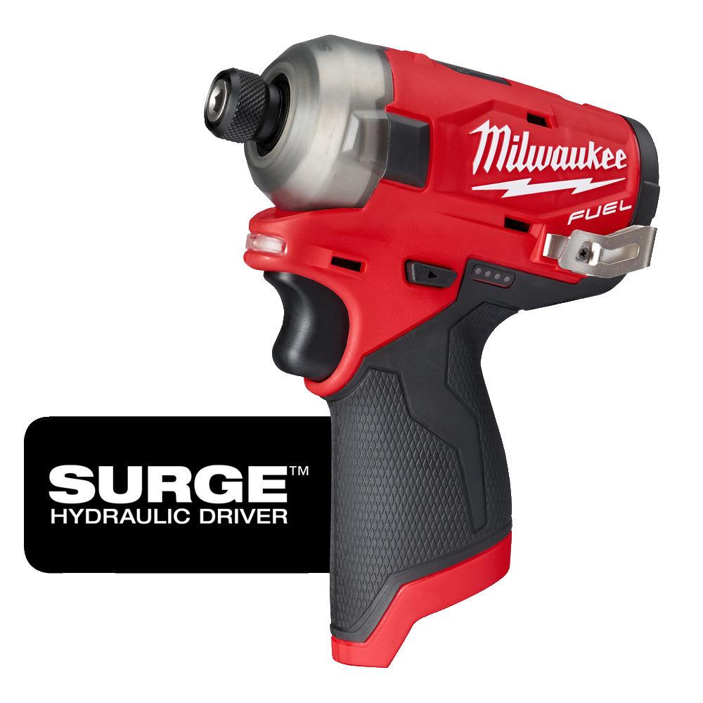 Milwaukee M12 Fuel Surge Impact Driver Body Only M12FQID-0 | 12V IMPACT DRIVER