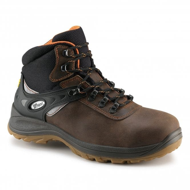 GRISPORT CONTRACTOR SAFETY BOOTS BROWN