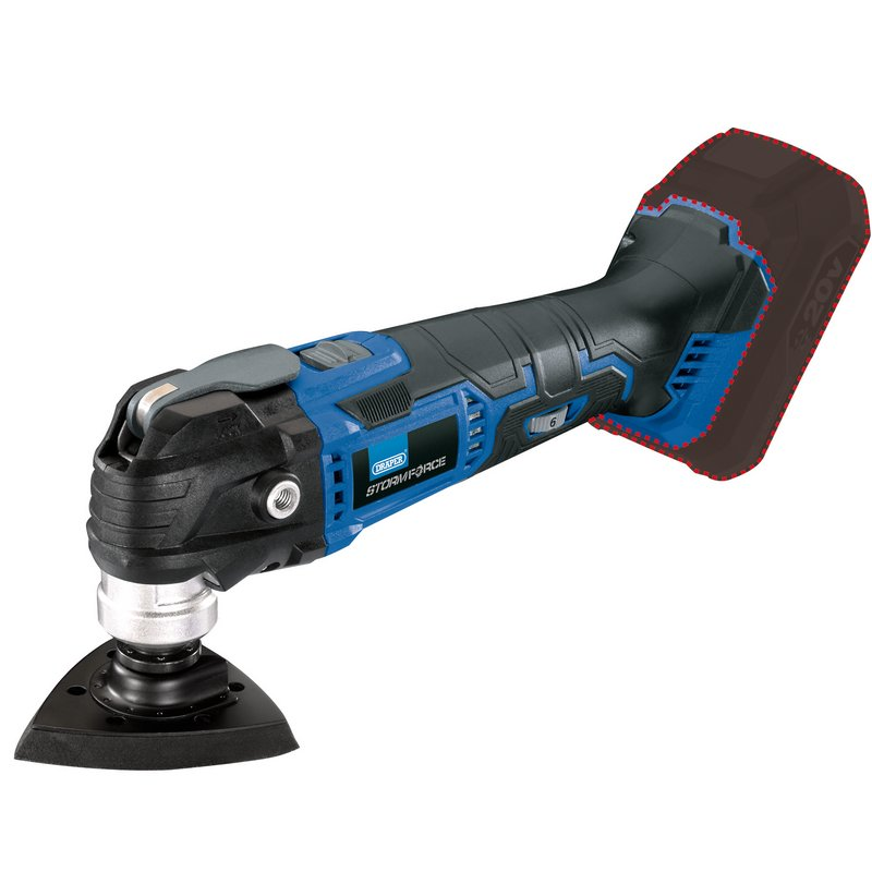 Draper Storm Force Oscillating Multi-Tool (Body Only) 89482
