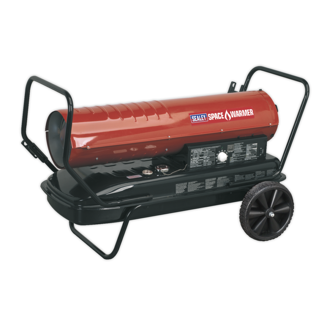Space Warmer®Paraffin/Kerosene/Diesel Heater with Wheels AB1758