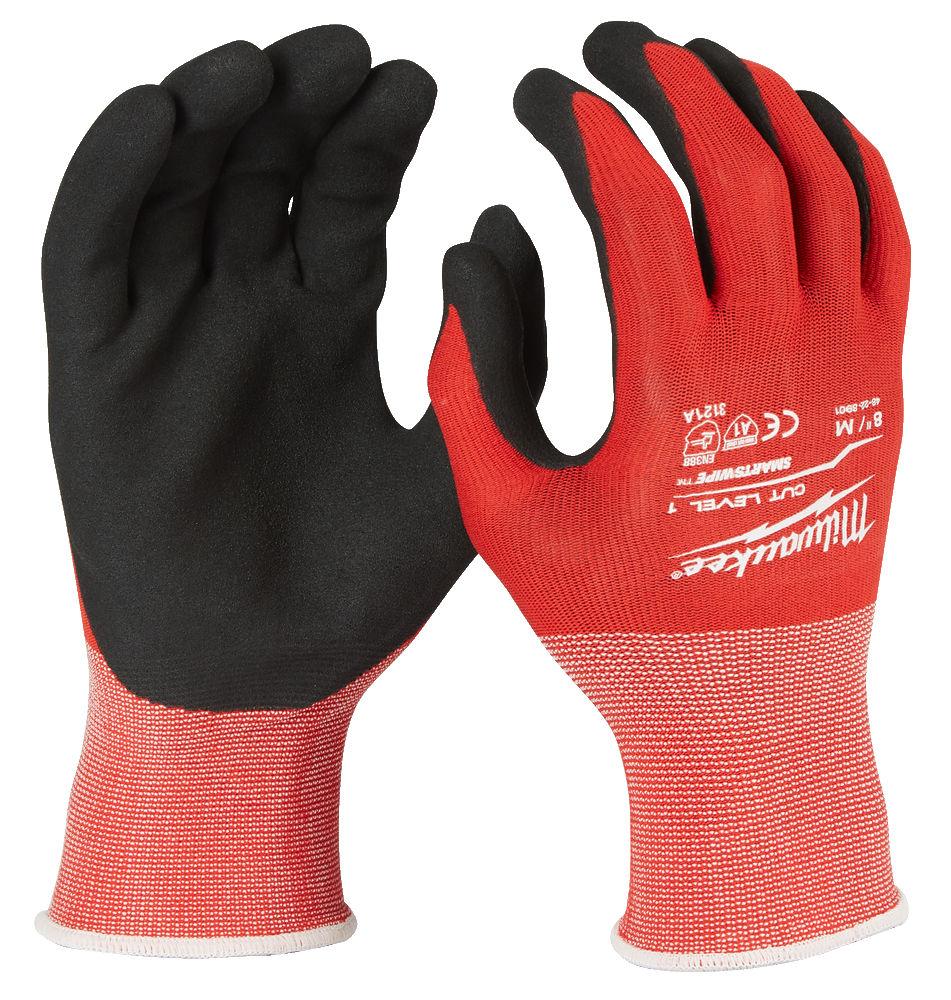 Milwaukee Winter Work Gloves Cut Resistant Level 1 XXL