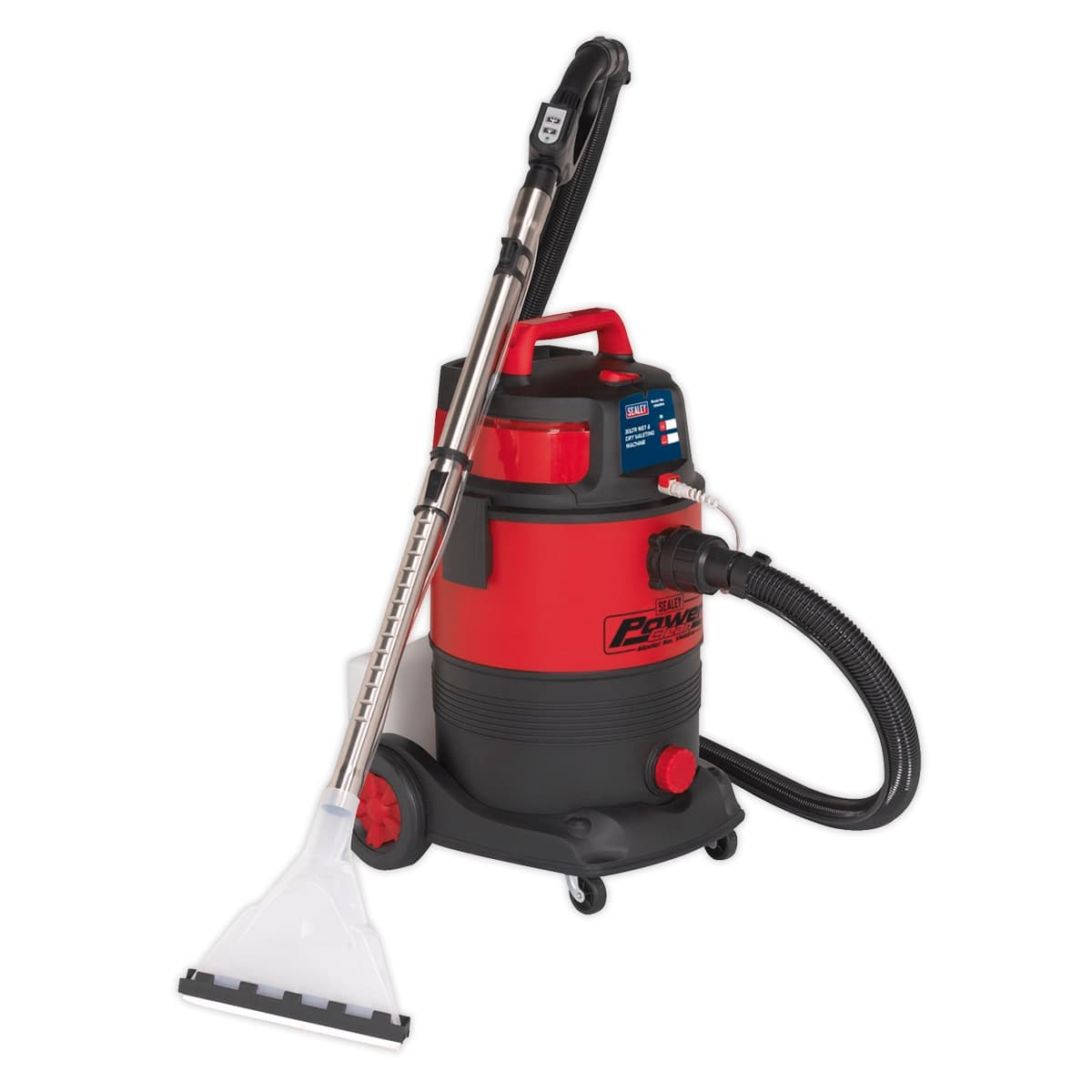 Valet Machine Wet & Dry 30L | High powered unit ideal for cleaning carpets, car interiors, fabrics and upholstery. | toolforce.ie