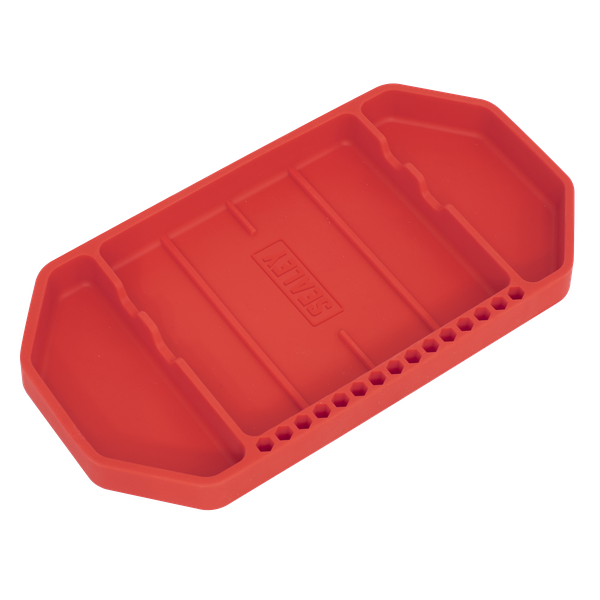 Sealey Flexible Tool Tray Non Slip APNST1   Can be used as mobile tool storage around the garage or workshop or alternatively used for tidy in-tray storage in rollcabs and toolboxes.   toolforce.ie