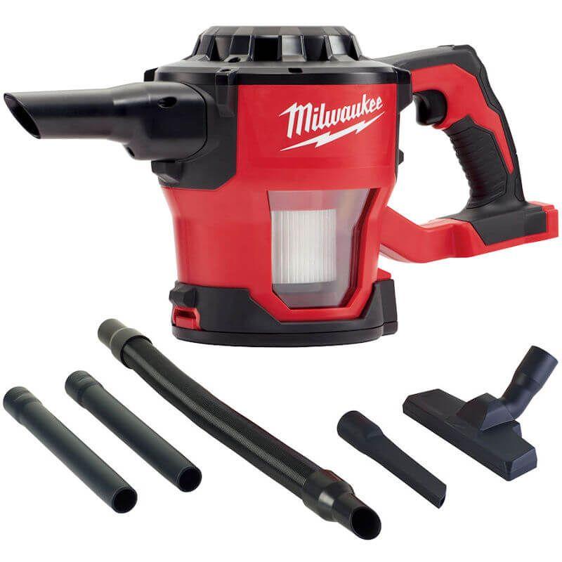 Milwaukee M18 Cordless Handheld Vacuum Cleaner Hover M18CV-0