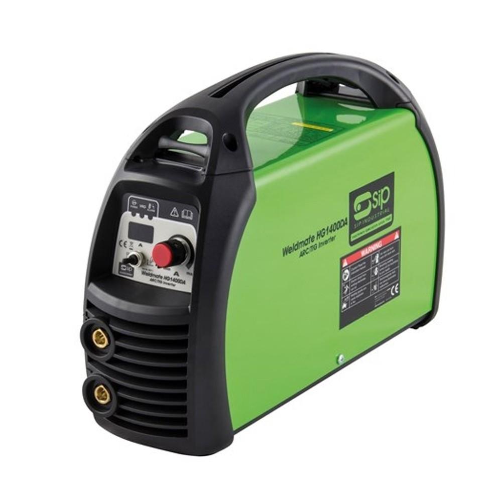 SIP HG1400DA Professional ARC Inverter Welder 05711 Green welder professional