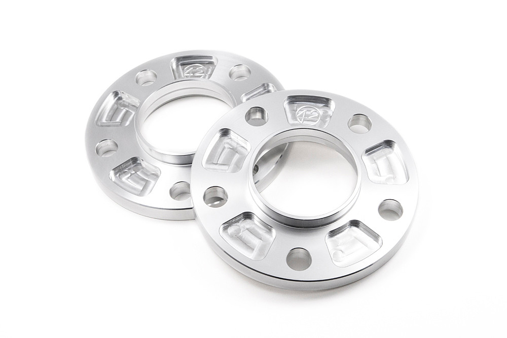 20mm Hubcentric Spacers 2 Pairs Bolts for Ćitroen C2 with Aftermarket Wheels