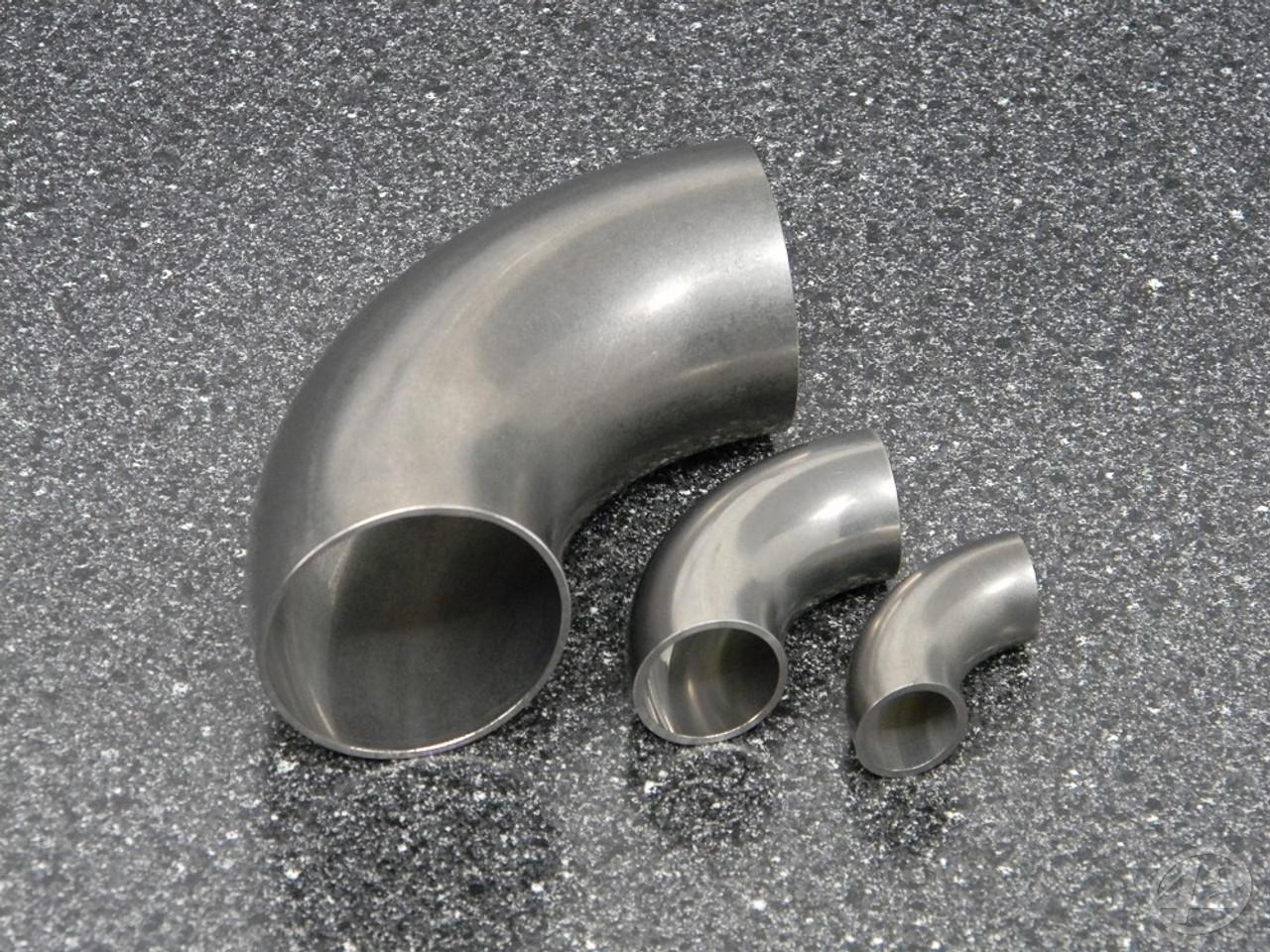 90° SS Mini Mandrel Bends