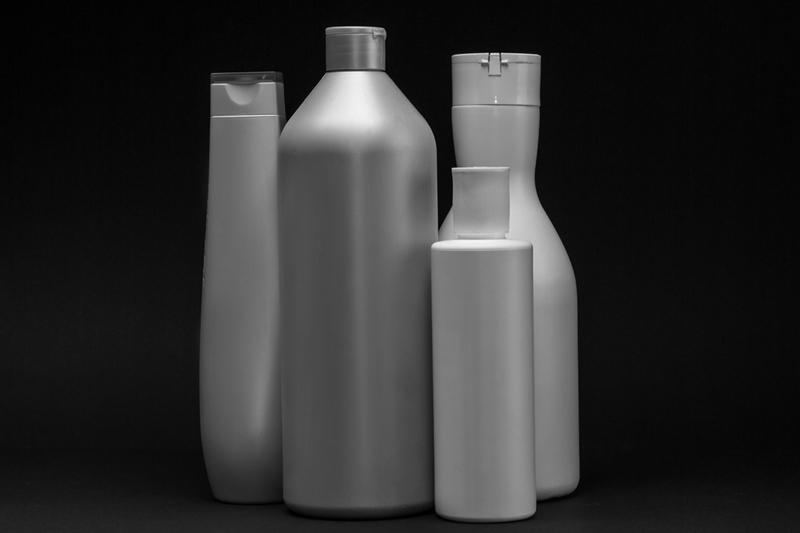 4 plastic bottles
