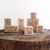 Raw Wooden Aussie Bushland Blocks