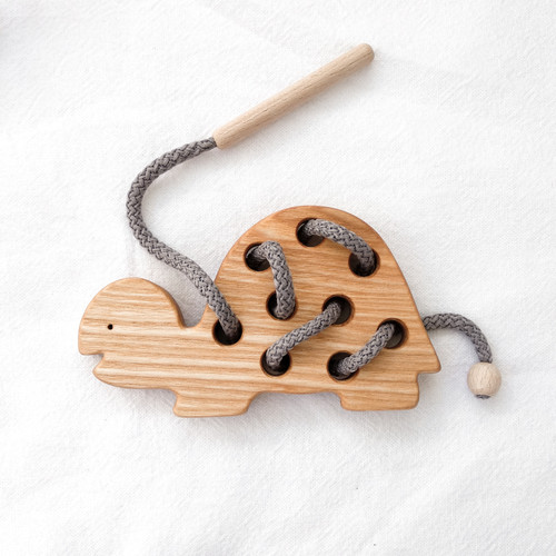 Wooden Animal Lacer