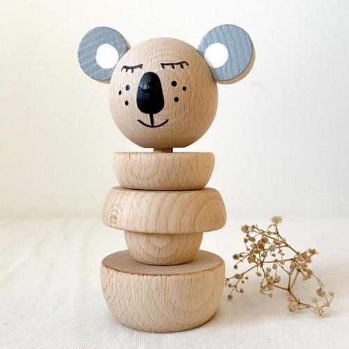Wooden Koala Stacker