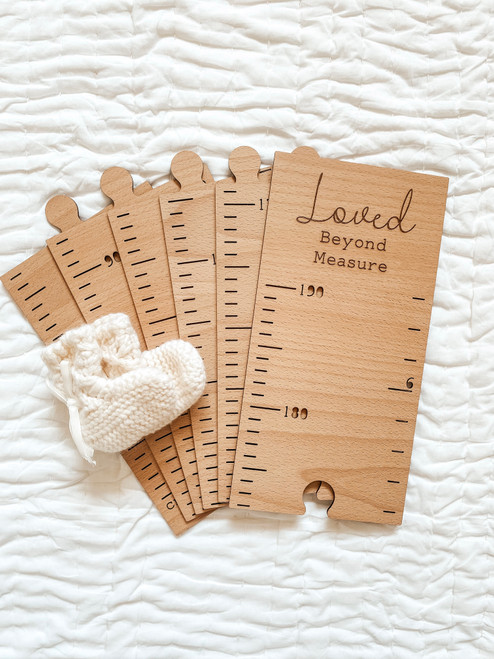Personalised Timber Height Chart