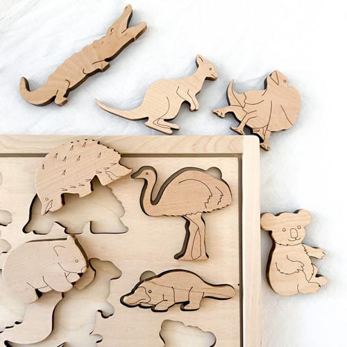 Aussie Animals - Shape Sorter