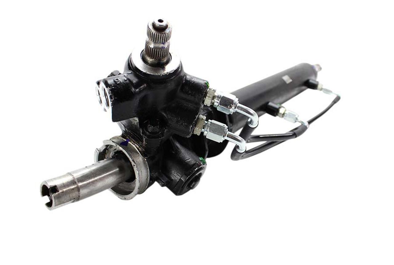 ISR Stainless Steel Power Steering Rack Lines For Nissan 240SX S13 S14 USDM