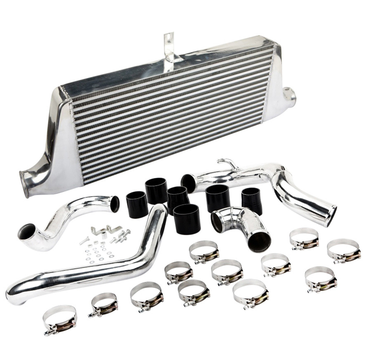 For 240SX 180SX CA18DET 89-94 Full Bar Plate Front Mount Intercooler Piping Pipe