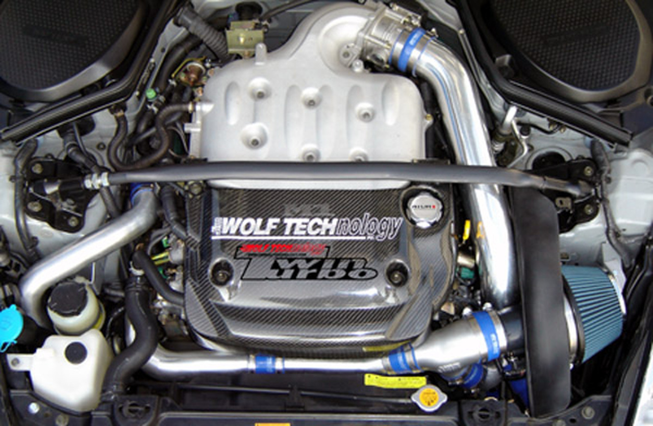 Jim Wolf Technologies Twin Turbo Kit Nissan 350z G35