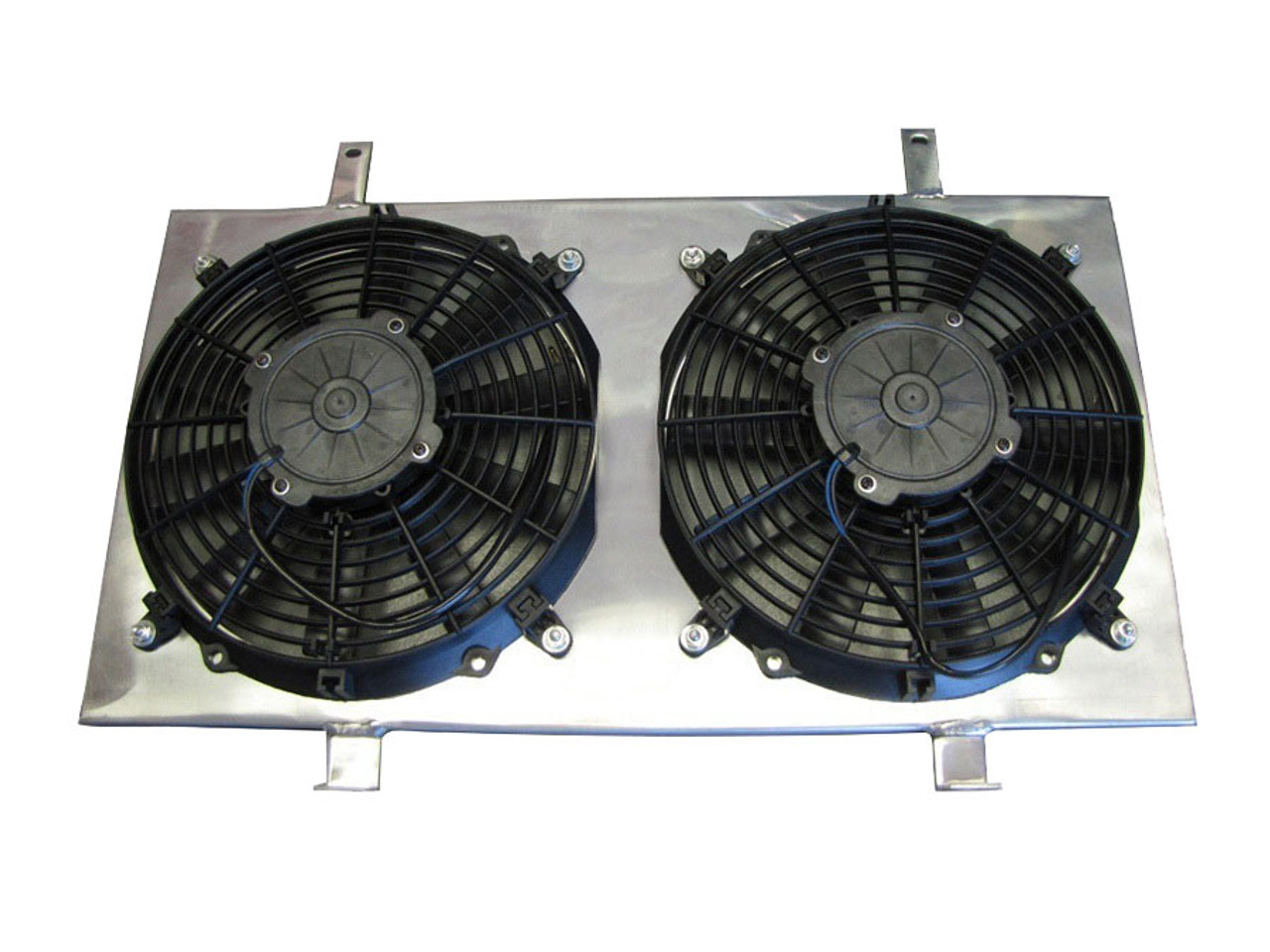 isr performance radiator fan shroud kit - nissan 240sx s13 89-94 ka24 -  enjuku racing parts, llc