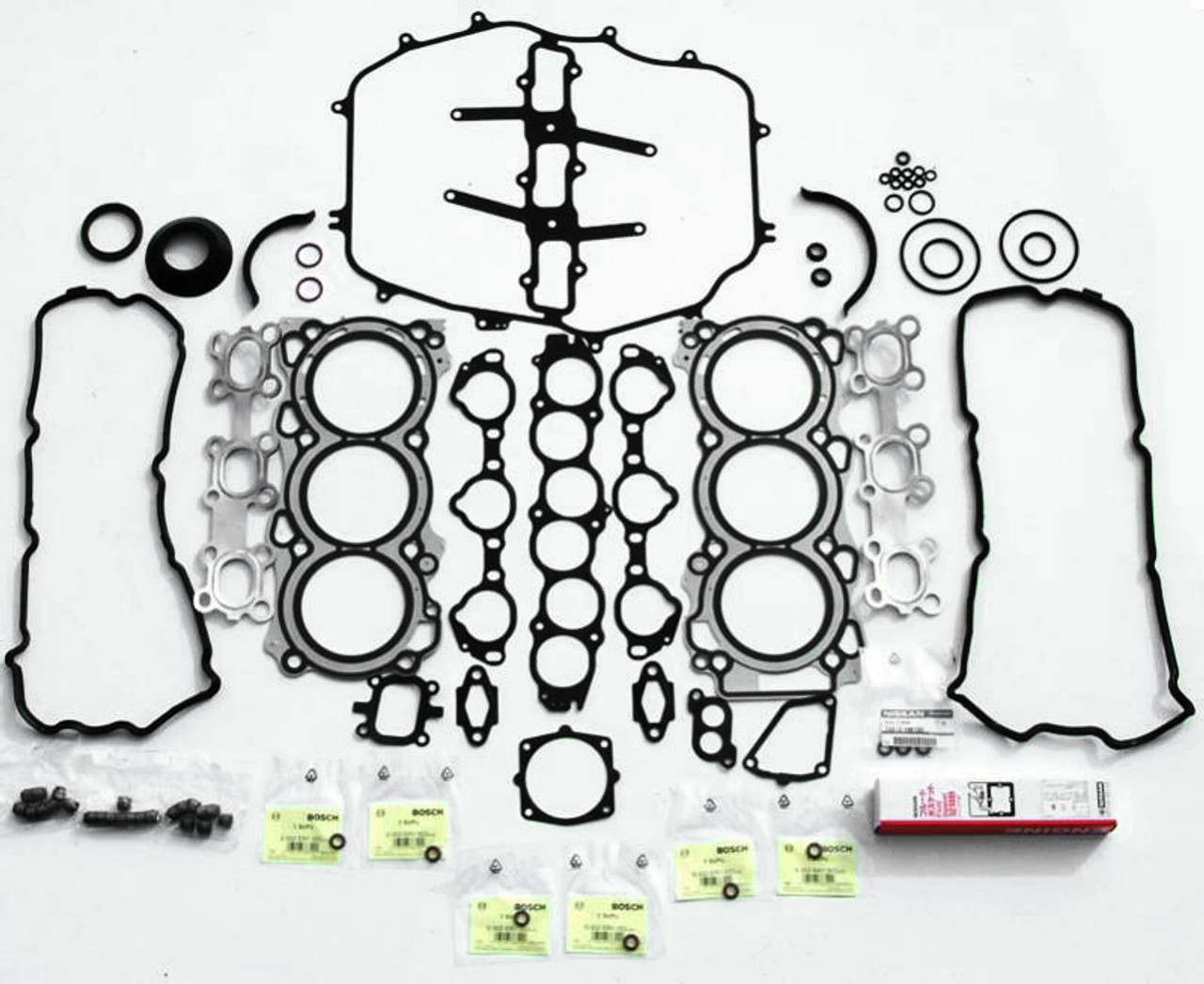 Oem Full Engine Gasket Set For Nissan Vq35de Z33 02 04