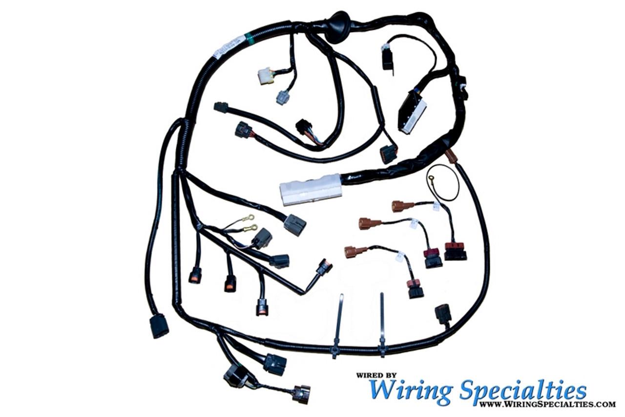 wiring specialties s13 sr20det swap harness combo for nissan 240sx s14