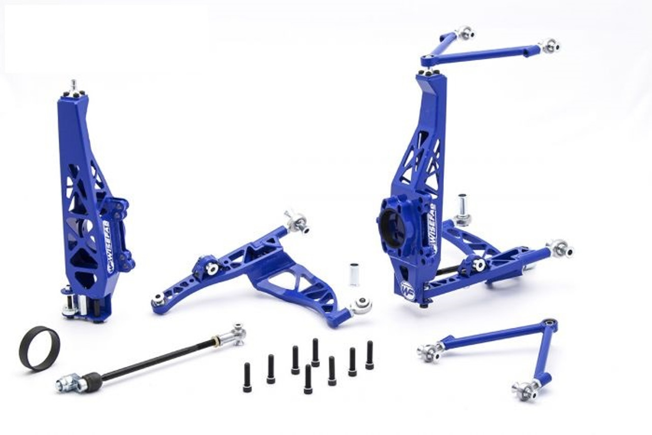 Wisefab Front Angle Kit for Nissan 350z