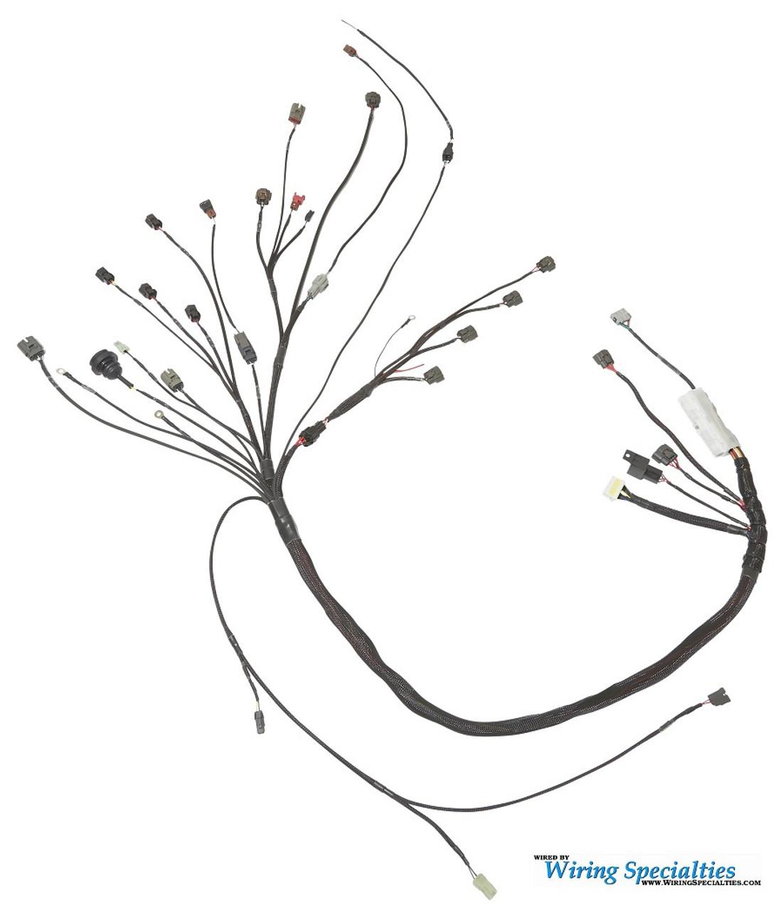 wiring specialties s13 sr20det pro harness for nissan 240sx '95 '98  nissan 240sx s14 sr20det transmission harness wiring specialties #10