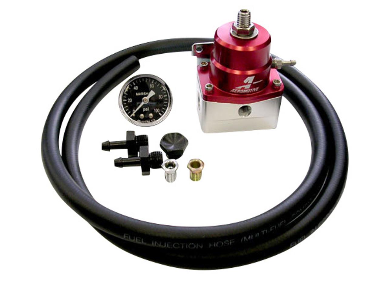 Enjoyable Aeromotive Fuel Pressure Regulator Kit For Nissan Ka Sr Rb Enjuku Wiring Digital Resources Bletukbiperorg