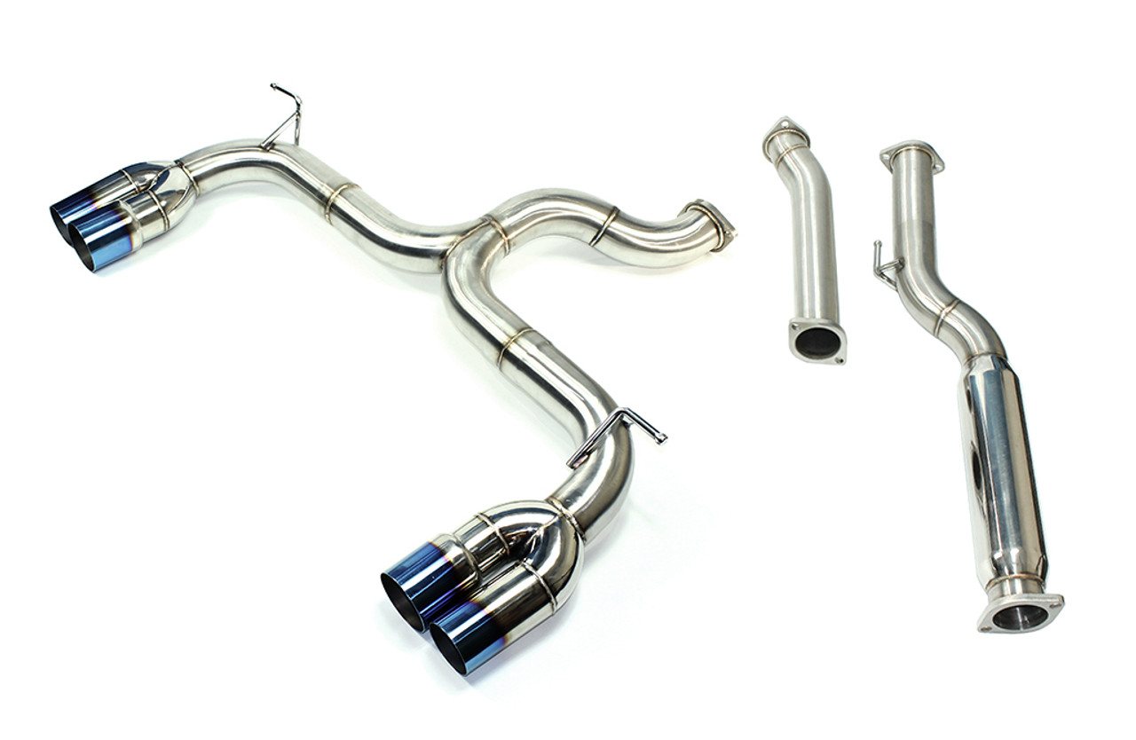 ISR Performance Race Exhaust - Hyundai Genesis Coupe 2 0T 09+