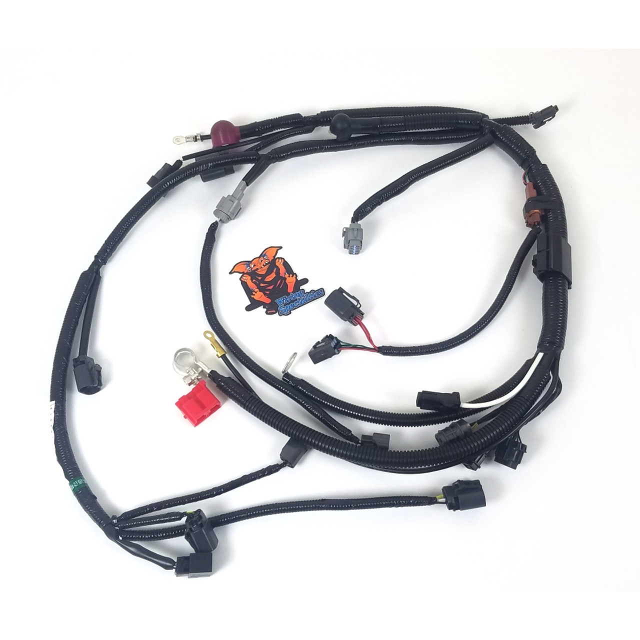 wiring specialties s14 ka24de lower harness for 240sx s14 - enjuku racing  parts, llc