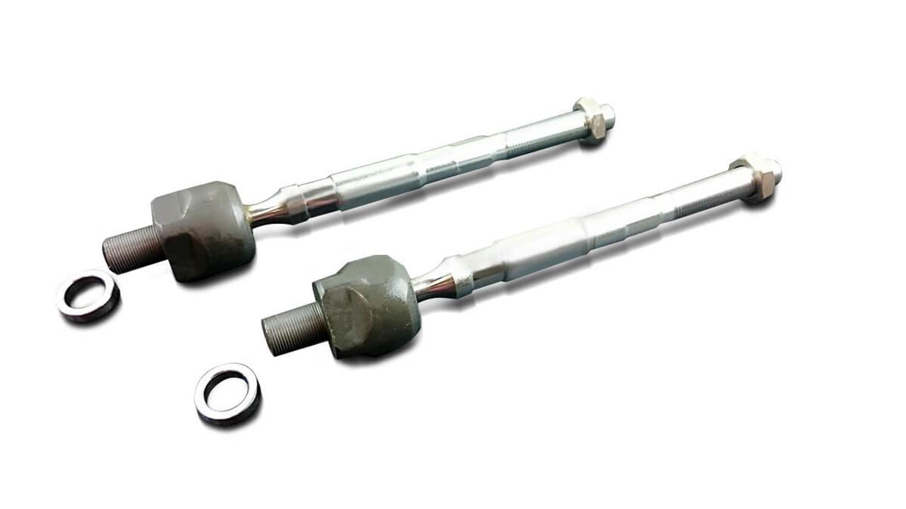 4 pc Set TWO NEW Inner Tie Rod TWO BOOTS for Hyundai Kia  Tiburon  Spectra