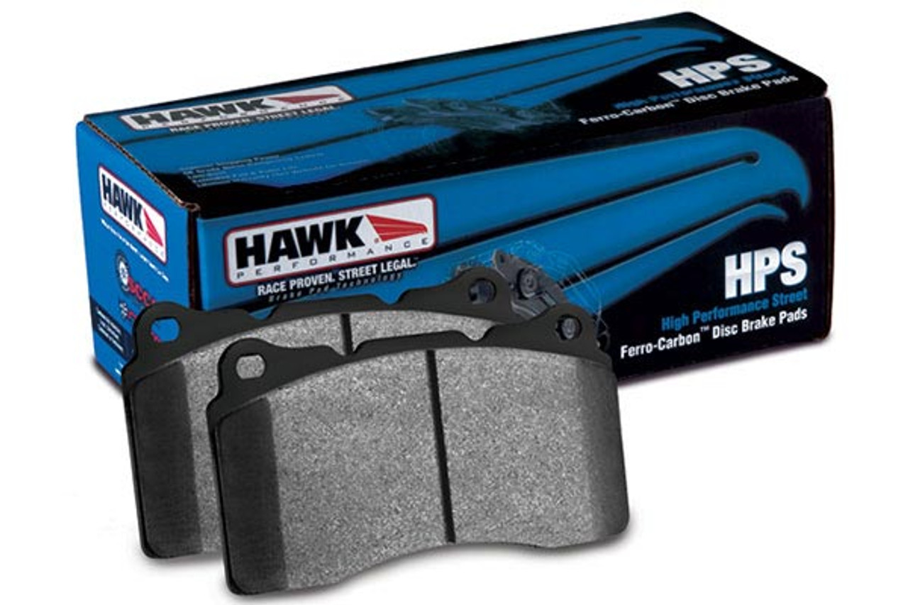 X3 Hawk HPS Brake Pads Front And Rear For BMW 330CI 330I 330XI Z4 M3