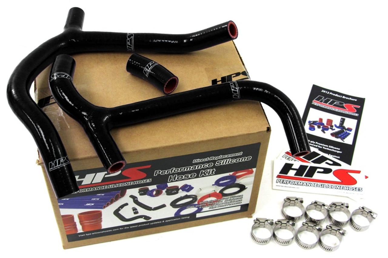 Black Silicone Radiator Hose Kit for Honda CRF450X HPS 57-1239-BLK