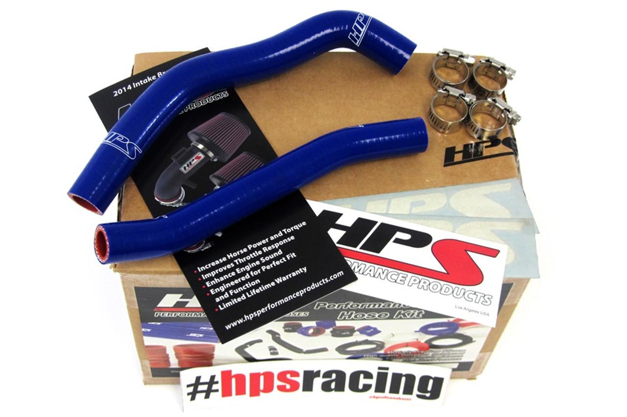 HPS Red 3-Ply Silicone Radiator Hose Kit for Yamaha 06-12 YFM700 Raptor Coolant