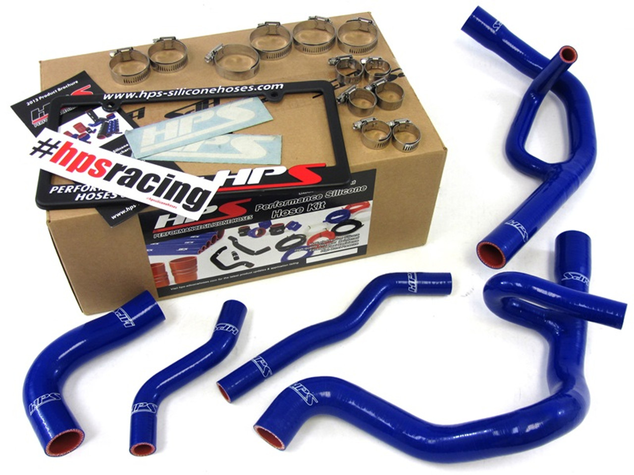 Hps Performance Reinforced Blue Silicone Radiator Hose Kit Coolant For Dodge 13 16 Dart 2 0l 2 4l Non Turbo Enjuku Racing Parts Llc