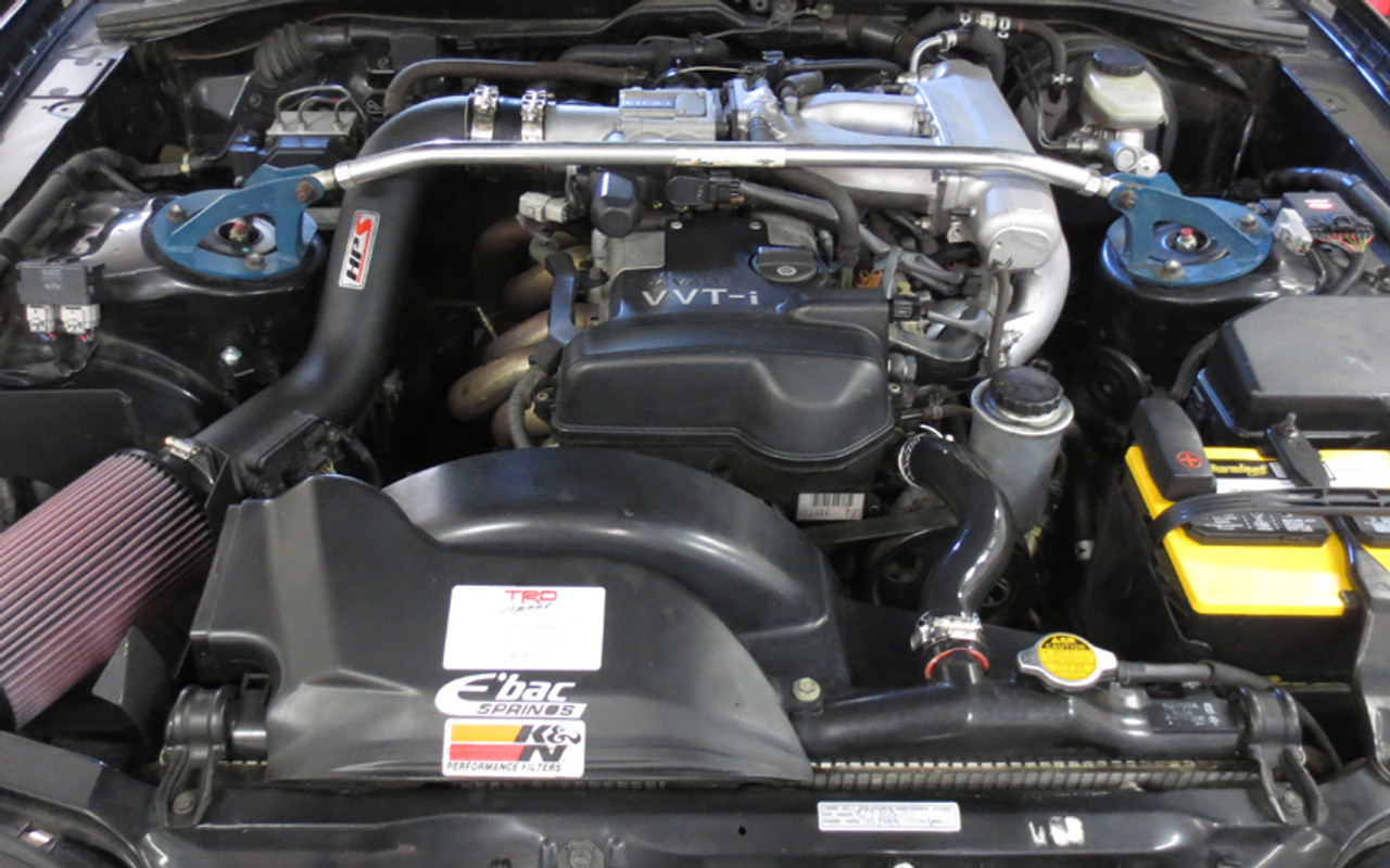 HPS Silicone Radiator Hose Kit for Lexus 92-99 SC300 1JZGTE 2JZGTE BLUE 95 96 97