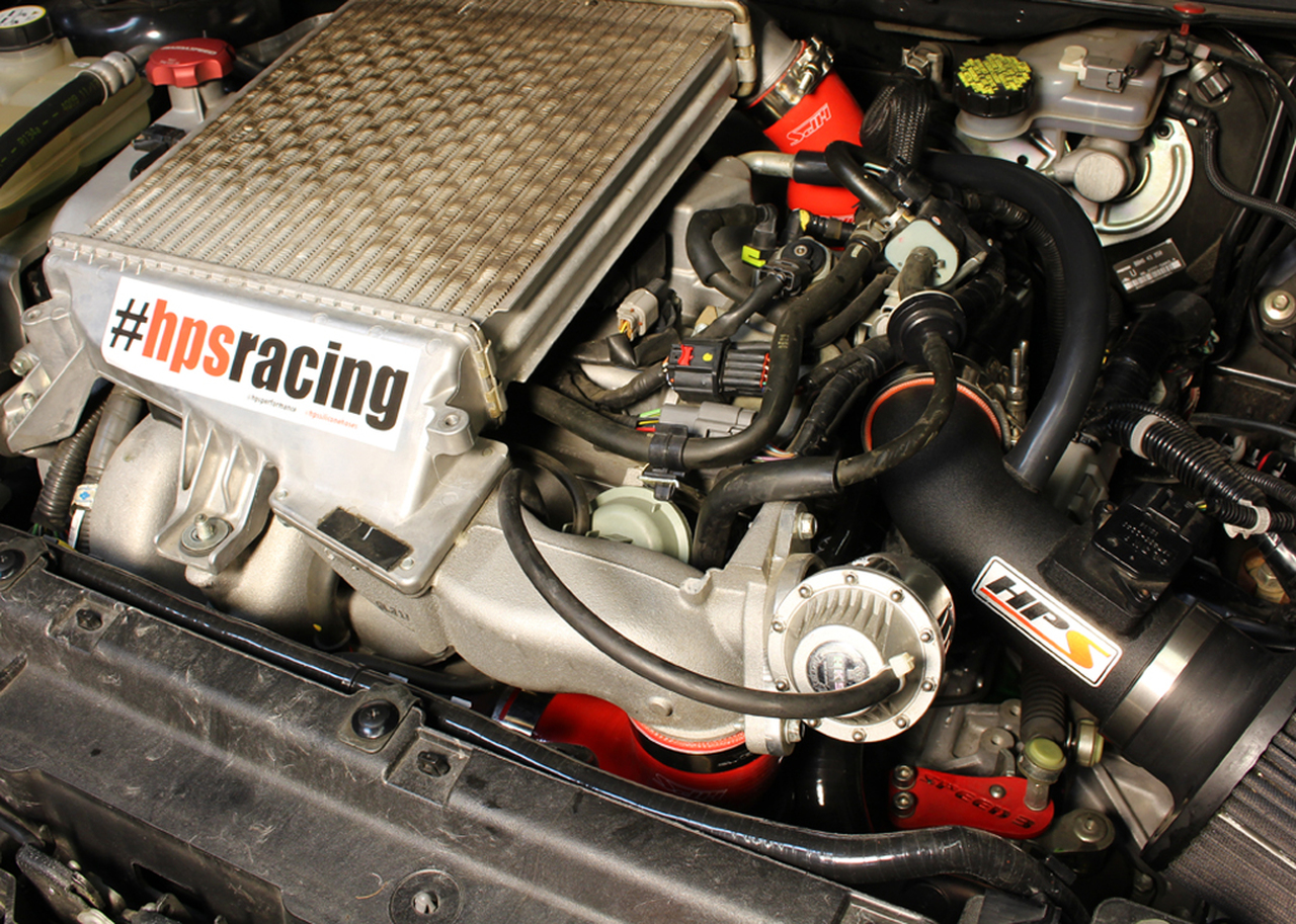 For Mazda Mazdaspeed3 Speed6 2.3L Turbo Silicone Intake Hose Black