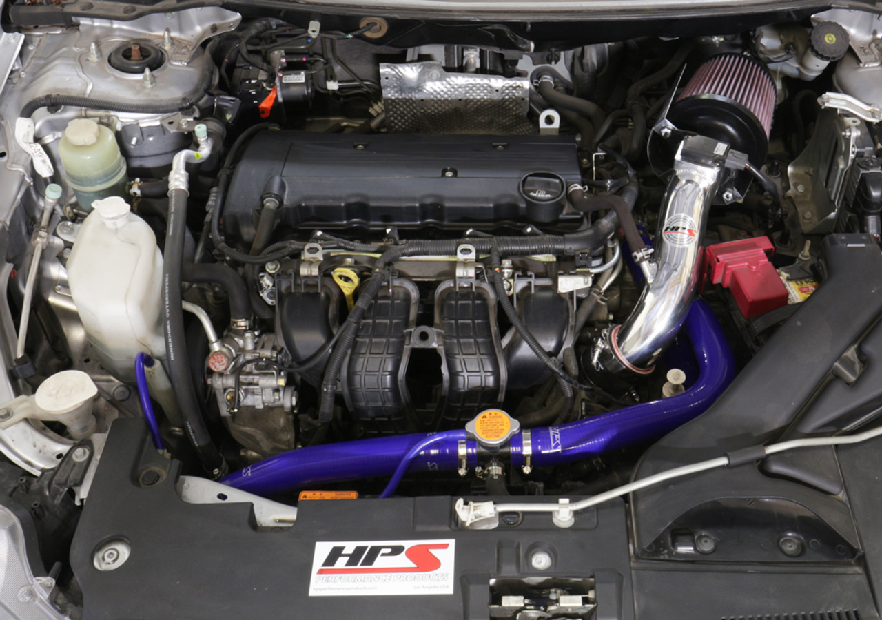 HPS Performance Blue Reinforced Silicone Radiator Hose Kit Coolant for  Mitsubishi 2008-2017 Lancer 2 0L 2 4L DE ES GTS