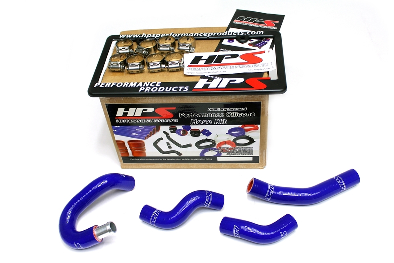 HPS 57-1436-BLUE Z33 Silicone Heater Hose Kit Coolant