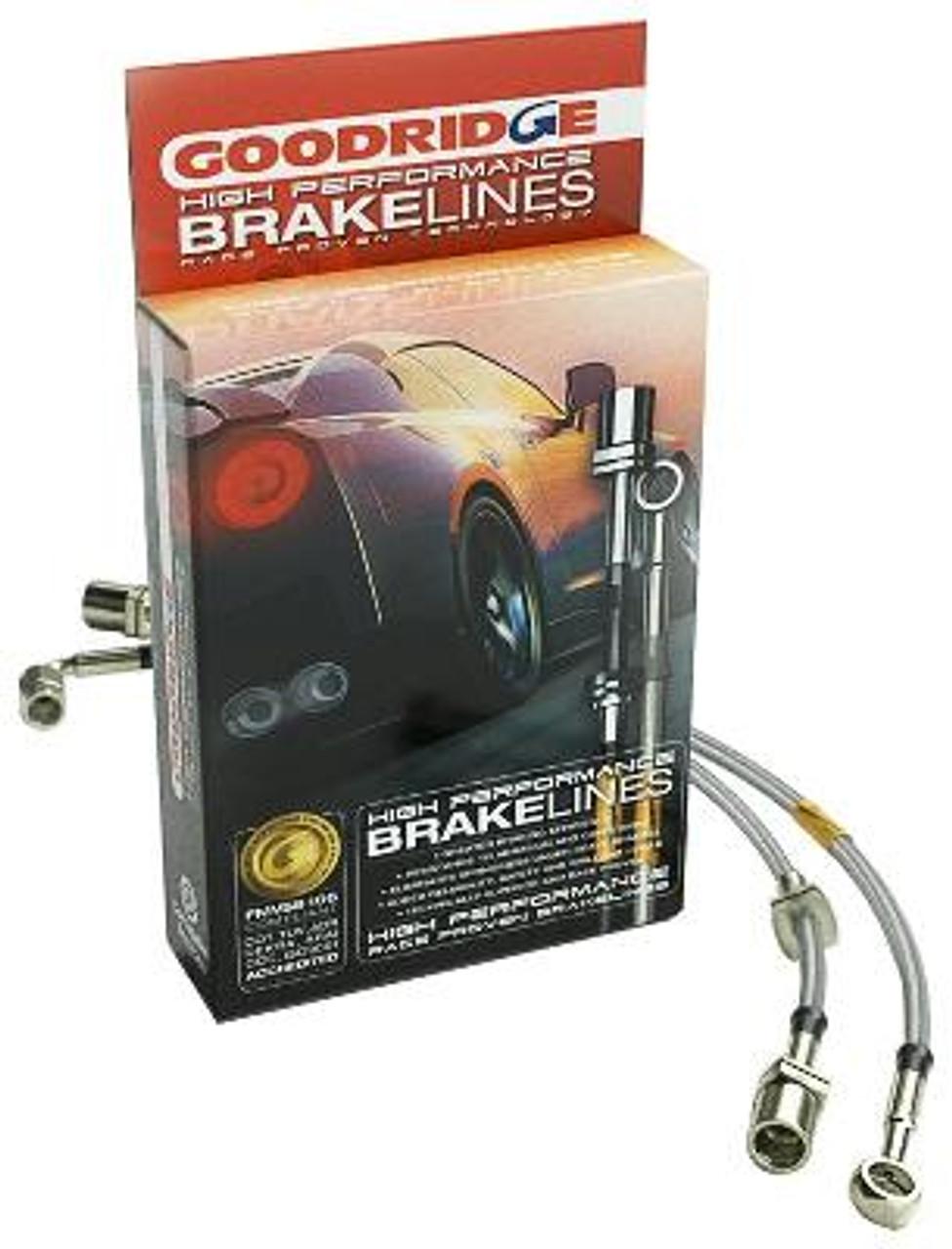 HEL STAINLESS STEEL BRAIDED BRAKE LINES HOSES 300ZX 3.0 1989-2000 Y2596