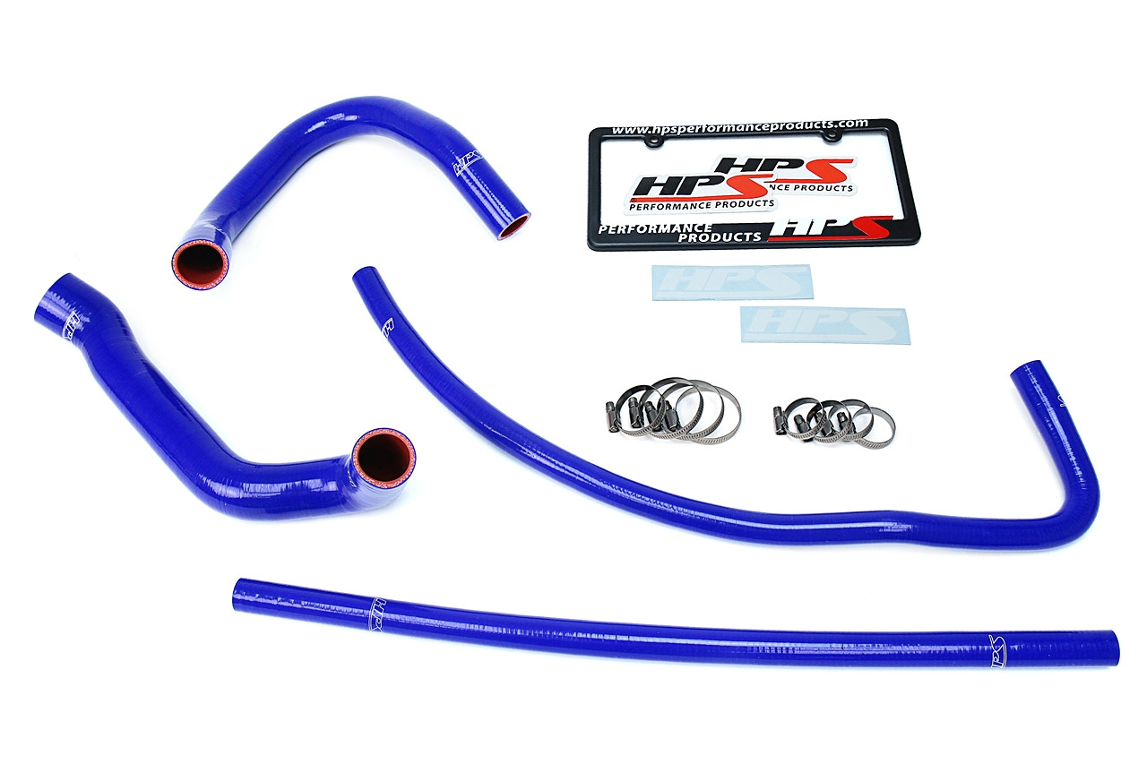 HPS Blue TJ Silicone Radiator Heater Hose Kit OEM Replacement 57-1689-BLUE