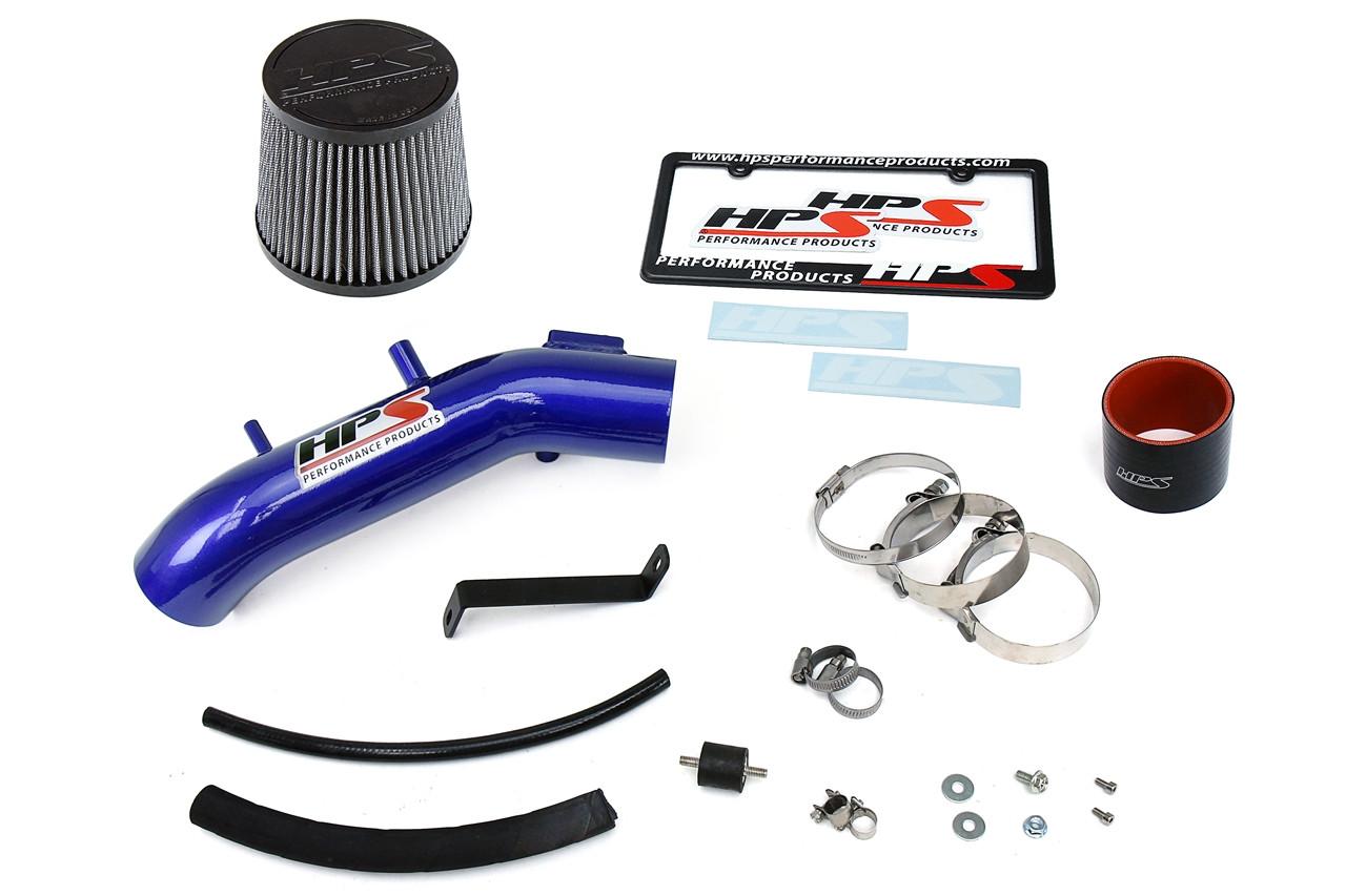 HPS Blue Shortram Air Intake//Heat Shield for 04-08 TSX /& 03-06 Accord 27-122BL