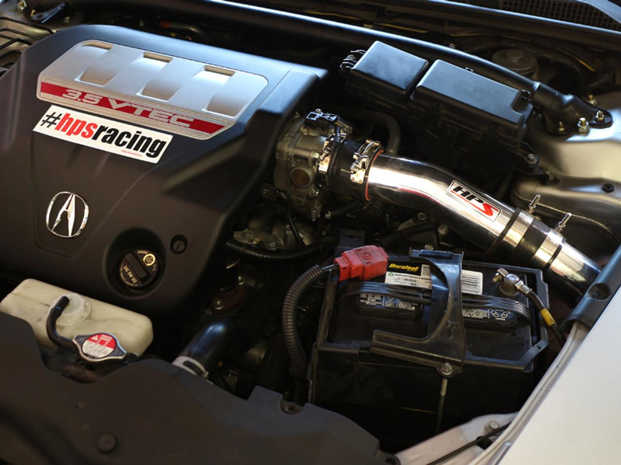 Hps Polish Cold Air Intake Converts To Shortram For 07 08 Acura Tl Type S 3 5l V6 Enjuku Racing Parts Llc