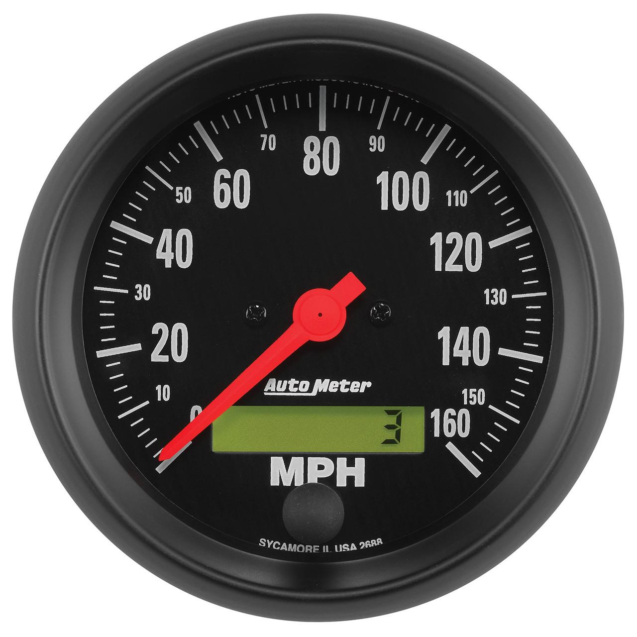 AutoMeter Gauge Speedo 3 3/8